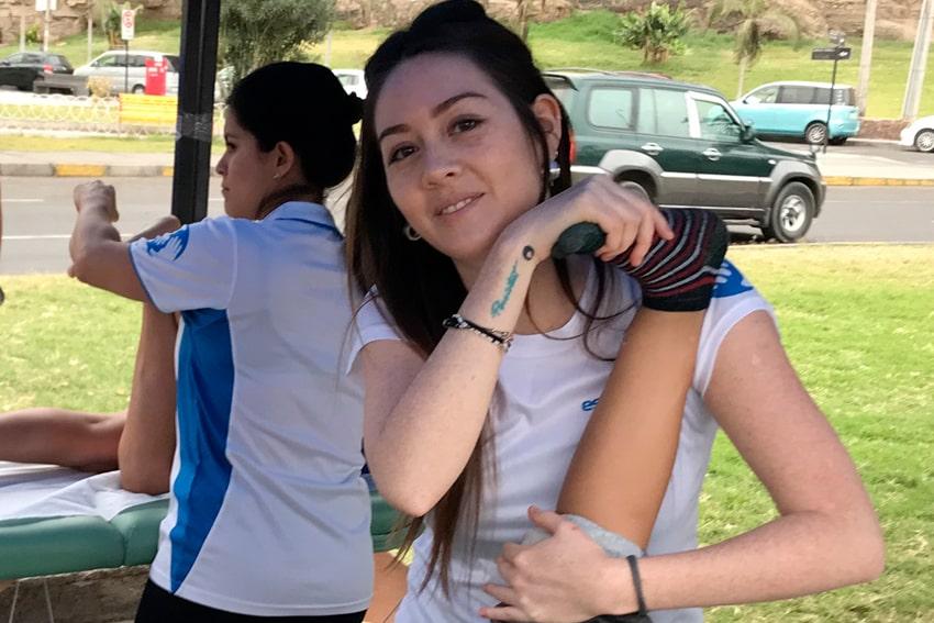 masaje en eventos deportivos santiago