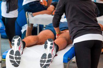 Masoterapia y entrenamiento físico en actividades deportivas